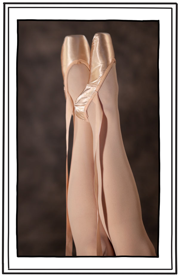 Chelini & Oeffling Stock Photography:  pointe shoes
