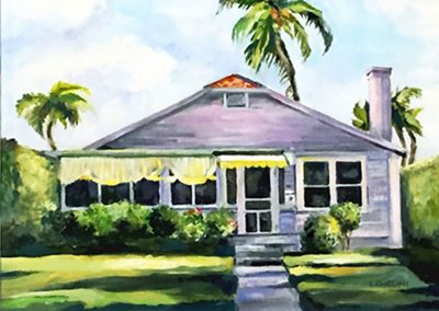 Olde Naples Cottage by Laura Chelini
