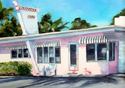 Gondolier Inn by Laura Chelini